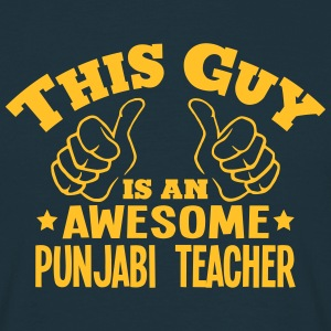 this guy is an awesome punjabi teacher - Men's T-Shirt