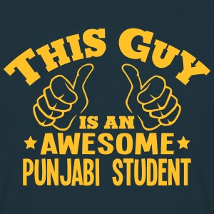 this guy is an awesome punjabi student - Men's T-Shirt