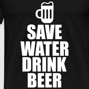 Save water drink beer  - Men's Premium T-Shirt