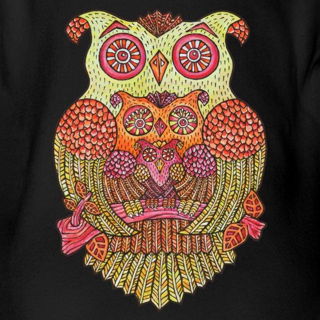 OWL FAMILY ----------- (3mths-18mths)