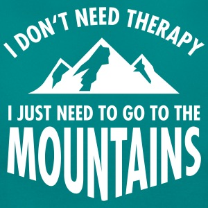 Therapy - Mountains T-shirts - T-shirt dam