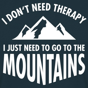 Therapy - Mountains Camisetas - Camiseta hombre