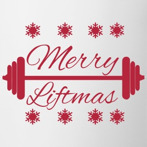 Merry Liftmas Mugs & Drinkware - Mug