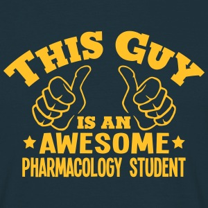 this guy is an awesome pharmacology stud - Men's T-Shirt