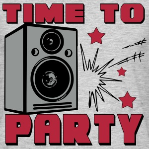 Time To Party T-Shirts - Männer T-Shirt