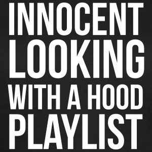 Innocent looking with a hood playlist Tee shirts - T-shirt Femme