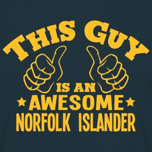 this guy is an awesome norfolk islander - T-shirt Homme