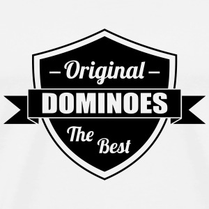 Domino / Dominoes / Jeu / Joueur / Game Tee shirts - T-shirt Premium Homme