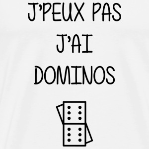 Domino / Dominoes / Game / Gamer / Puzzle T-Shirts - Men's Premium T-Shirt