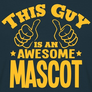 this guy is an awesome mascot - Men's T-Shirt