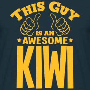 this guy is an awesome kiwi - T-shirt Homme
