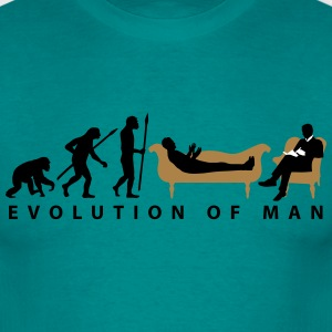 evolution_therapeut_psychologe_11_2016_a T-Shirts - Männer T-Shirt