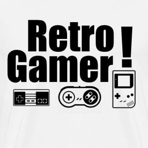 Retro Gamer! - Men's Premium T-Shirt