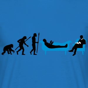 evolution_therapeut_psychologe_11_2016_b T-Shirts - Männer T-Shirt