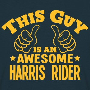 this guy is an awesome harris rider - Men's T-Shirt
