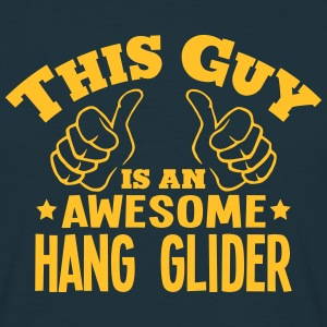 this guy is an awesome hang glider - Men's T-Shirt