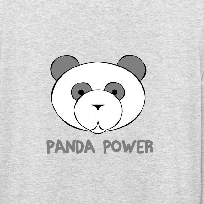 "Kapuzenpullover ""Panda Power"""
