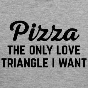 Pizza Love Triangle Funny Quote Vêtements de sport - Débardeur Premium Homme