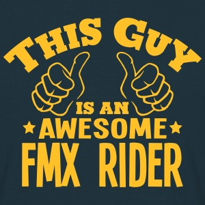 this guy is an awesome fmx rider - Men's T-Shirt