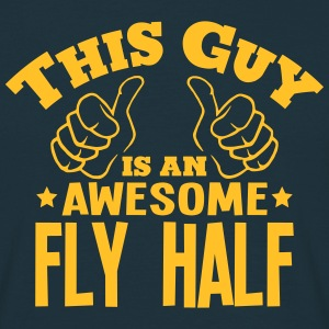this guy is an awesome fly half - Men's T-Shirt