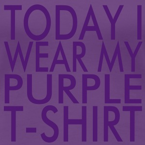 Purple T-Shirt - Frauen Premium T-Shirt