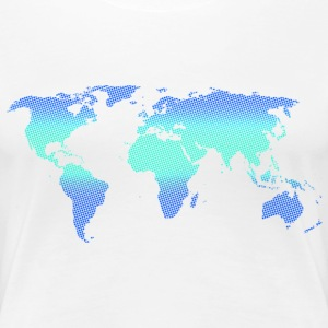 Blue World - Frauen Premium T-Shirt