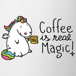 Einhorn Tasse - Coffee is real Magic - Tasse
