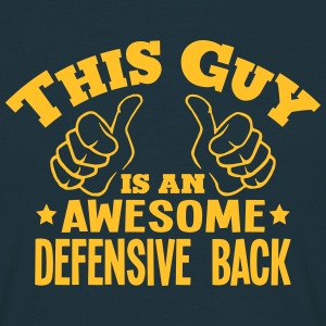 this guy is an awesome defensive back - T-shirt Homme