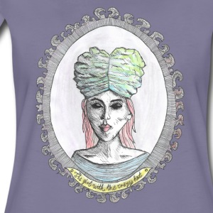 the girl-crazy hat-brain T-Shirts - Frauen Premium T-Shirt