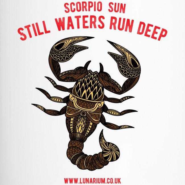 Scorpio Sun Travel Mug
