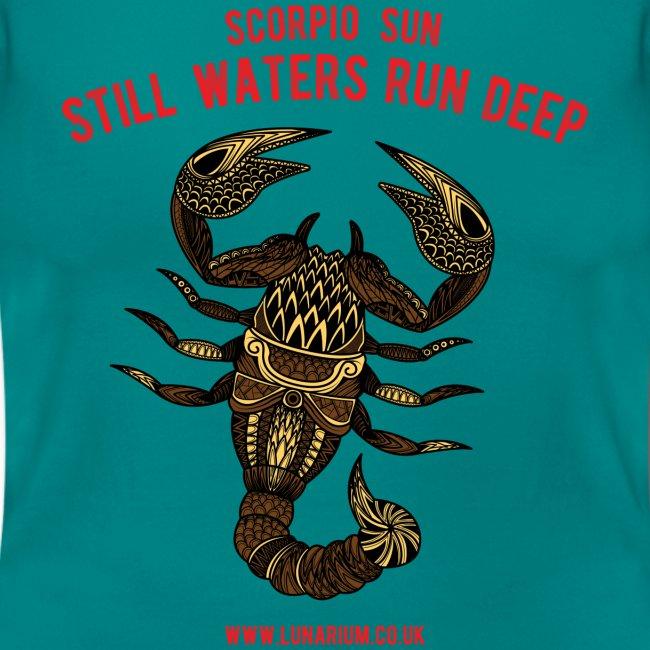 Scorpio Sun Women's T-Shirt
