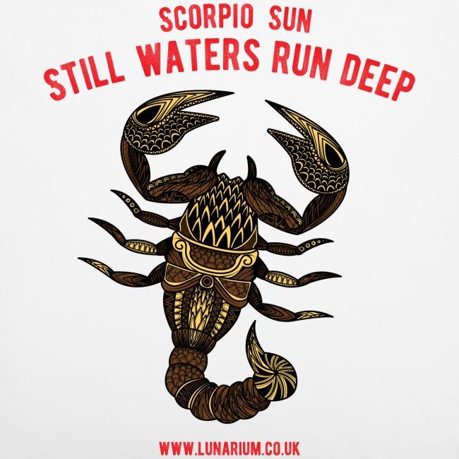 Scorpio Sun Pillowcase 40 x 40 cm