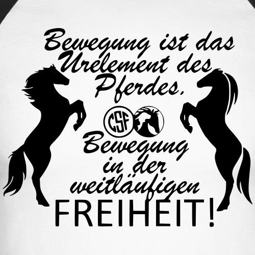 Bewegung ist das Urelement des Pferdes ...