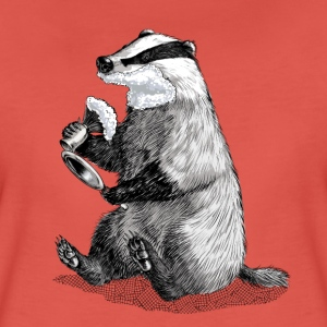 Badger Shaving T-Shirts - Women's Premium T-Shirt