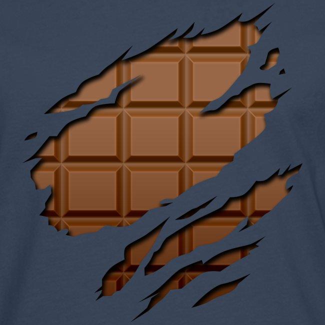 Langarmshirt Schokoladen Körper