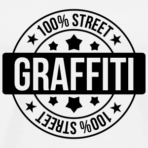 Graffiti / Tag / Writer / Street Art T-shirts - Herre premium T-shirt