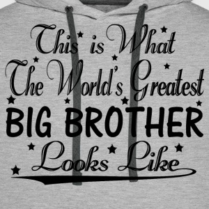 World's Greatest Big Brother... Hoodies & Sweatshirts - Men's Premium Hoodie