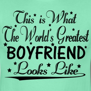 World's Greatest Boyfriend... T-Shirts - Men's T-Shirt