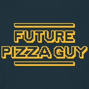 future pizza guy - Men's T-Shirt