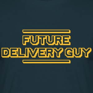 future delivery guy - Men's T-Shirt