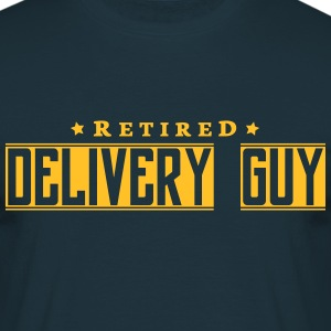 retired delivery guy - Men's T-Shirt