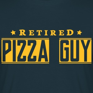 retired pizza guy - Men's T-Shirt