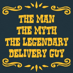 delivery guy the man myth legendary lege - Men's T-Shirt