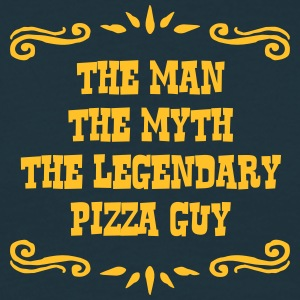 pizza guy the man myth legendary legend - Men's T-Shirt