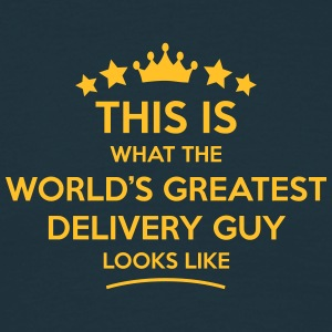 delivery guy world greatest looks like - Men's T-Shirt