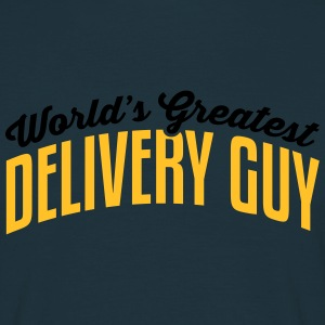worlds greatest delivery guy 2col - Men's T-Shirt
