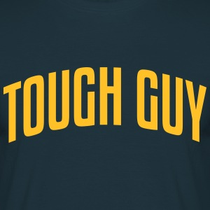 tough guy stylish arched text logo - Men's T-Shirt