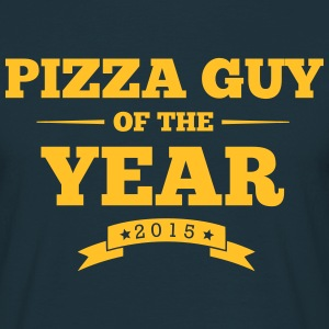 pizza guy of the year 2015 - T-shirt Homme