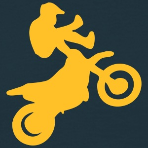 fmx freestyle motocross guy - Men's T-Shirt