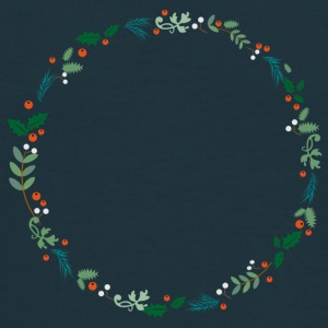 An evergreen wreath T-Shirts - Men's T-Shirt